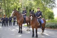 Конный патруль в Туле, Фото: 4