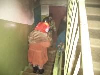 Пожарные спасли семь человек в Щекино. 9 марта 2016 , Фото: 2