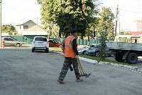Субботник в Пролетарском округе Тулы, Фото: 25
