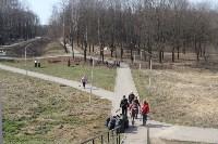 3200 кустов и деревьев высадили сегодня в Туле в ходе субботника, Фото: 6