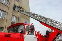Тульские пожарные ликвидировали условное возгорание в здании суда, Фото: 7