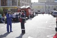 Массовая эвакуация людей в Туле, Фото: 28