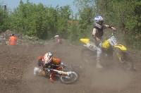 Юные мотоциклисты соревновались в мотокроссе в Новомосковске, Фото: 24