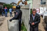 Плеханово, итоги дня: В таборе принудительно снесли первые 10 домов, Фото: 4