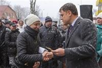 Груздев вручил ключи от социального жилья в Богородицке. 1 апреля 2014, Фото: 6