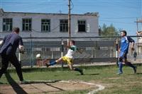 Тульские журналисты сыграли в футбол с зэками, Фото: 12