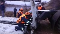 Монтаж моста в Архангельской области, Фото: 16