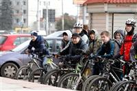 По центральным улицам Тулы прошел велопробег, Фото: 42