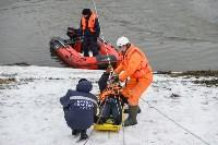 Учения спасателей на набережной Дрейера. 3 марта 2016 года, Фото: 6