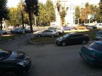 Автохамы на проспекте Ленина в Туле, Фото: 1