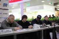 Бойцы М-1 провели открытую пресс-конференцию и встретились с фанатами, Фото: 15