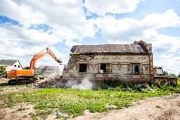 Снос домов в Плеханово. 6 июля 2016 года, Фото: 24
