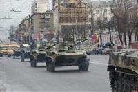 По Туле прошла колонна военной техники, Фото: 7