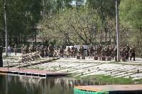 Реконструкция боевых действий. Центральный парк. 9 мая 2015 года, Фото: 2