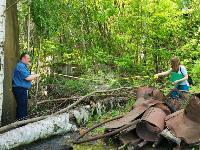 В Пролетарском районе Тулы ликвидируют разлив мазута, Фото: 22