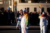 Второй этап эстафеты олимпийского огня: Зареченский район, Фото: 75