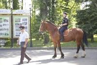 Конный патруль в Туле, Фото: 1