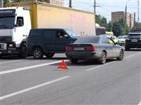 На Зеленстрое «УАЗ Патриот» протаранил «Ауди». 6 июня 2014, Фото: 2