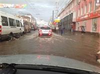 Центр Тулы затопило, Фото: 2