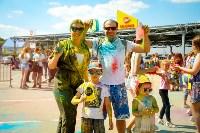 В Туле прошел фестиваль красок и летнего настроения, Фото: 155