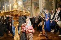 Рождественское богослужение в Успенском соборе Тулы, Фото: 80
