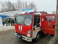 В Туле в переулке Тимирязева загорелся тир «Динамо», Фото: 4