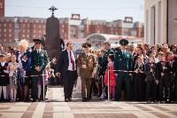 Открытие монумента и бронепоезда на Московском вокзале. 8 мая 2015 года, Фото: 12