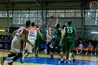 Тульские баскетболисты «Арсенала» обыграли черкесский «Эльбрус», Фото: 16