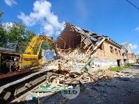 В Плеханово вновь сносят незаконные дома цыган, Фото: 25