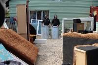 В Плеханово начали сносить дома в цыганском таборе, Фото: 74