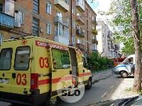 Пожар на ул. Шухова в Туле, Фото: 1