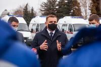 Алексей Дюмин передал региональному Центру медицины катастроф 39 новых автомобилей, Фото: 13