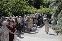 В Туле пенсионеры толпятся в огромной очереди на продление проездных, Фото: 20