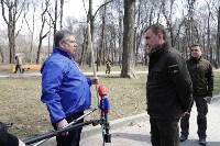 Алексей Дюмин предложил партии власти работать на субботнике дольше всех, Фото: 3
