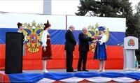 Александр Прокопук передал керчанам девяти единиц новой коммунальной техники, Фото: 3