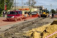 В посёлке Южный стартовали работы по обустройству ливневой канализации, Фото: 8