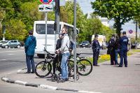 Полицейский рейд в тульских маршрутках: на пассажиров без масок составляют протоколы, Фото: 44