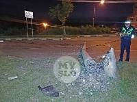 Крупное ДТП на ул. Металлургов в Туле: Nissan снес столб, пассажирку вышвырнуло из машины, Фото: 22