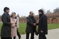 16 октября Владимир Груздев проконтролировал ход работ в Тульском кремле., Фото: 7