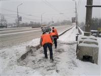 Расчистка тульских улиц коммунальными службами, Фото: 3