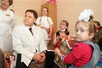 Владимир Груздев в Тульской детской областной клинической больнице. 26 декабря 2013, Фото: 7