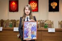 В Туле прошёл конкурс детских рисунков «Мои родители работают в прокуратуре», Фото: 37
