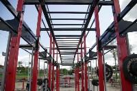 В Туле на набережной Упы открылась уникальная спортплощадка для занятий фитнесом и бодибилдингом, Фото: 9