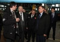 Врио губернатора Тульской области Алексей Дюмин посетил Алексинский химкомбинат, Фото: 11