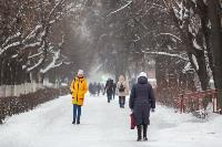 Последствия снежного циклона в Туле, Фото: 22