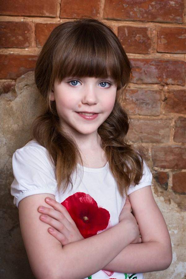 Анна Елагина, 8 лет. Фото Александра Сережкина.