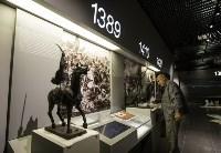 Монтаж экспозиции нового музея на Куликовом поле. Август 2016, Фото: 61