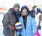 III ежегодный турнир по пляжному волейболу на снегу., Фото: 45
