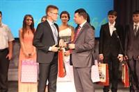 Владимир Груздев поздравил тульских выпускников-медалистов, Фото: 113
