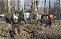 Субботник в Комсомольском парке с Владимиром Груздевым, 11.04.2014, Фото: 44